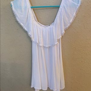 Vanilla Star Off the Shoulder Blouse, Size XL